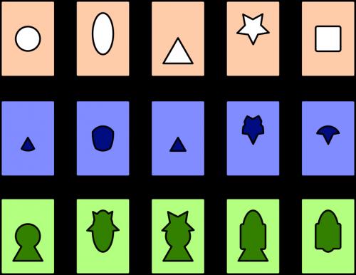 Serrature - alcune carte del gioco